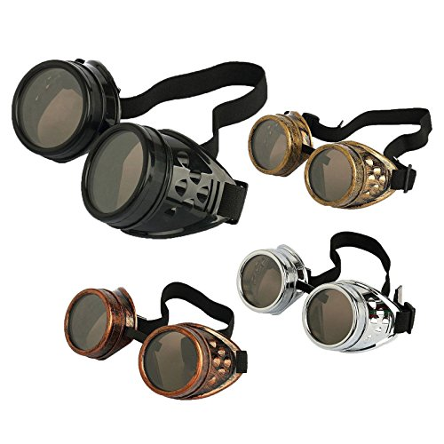 Agile-shop-4pcs-Retro-Vintage-Victorian-Steampunk-Goggles-Glasses-Welding-Cyber-Punk-Gothic-Cosplay