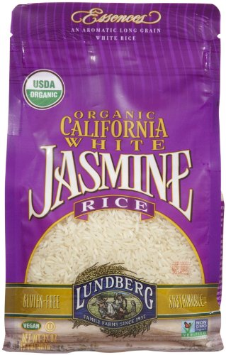 Lundberg Organic Rice - Jasmine White - 32 oz (Jasmine White Rice Organic compare prices)