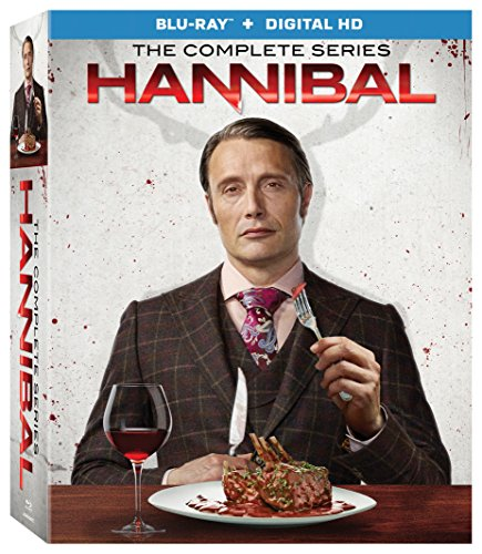Hannibal: The Complete Series Collection Season 1-3 [Blu-ray + Digital HD]