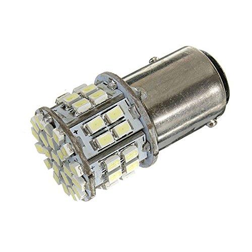 Top Brand Bay15D 1157 White Car Tail Stop Brake Light 50 Smd Led Bulb 12V