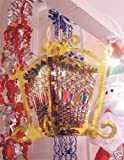 Chinese Style Foil Lantern Decoration for Chinese New Year