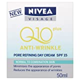 NIVEA Visage Anti-wrinkle Q10Plus Pore Refining Day Cream, SPF 15 - 50 ml