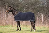 HKM Cavallino Marino Anti-Sweat Rug -Atlantis- Triple Braid Eu155/Uk6'9/Us 81 Graphite