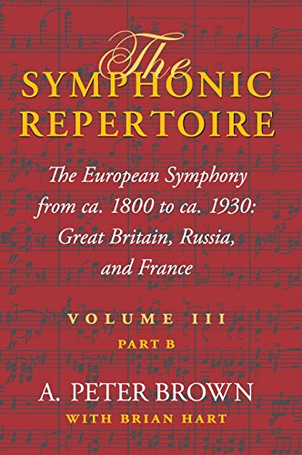 The Symphonic Repertoire Volume III Part B: The European Symphony from ca. 1800 to ca. 1930: Great Britain, Russia, and France: The European Symphony ... Great Britain, Russia, and France v. 3, pt. B