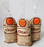 Amish Country Popcorn, Hulless & Non GMO, 1 Pound Bags (Pack of 3) (Ladyfinger)
