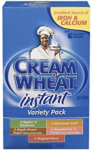 Cream Of Wheat Instant Variety Pack, 11.75-Ounce Boxes (Pack of 6)