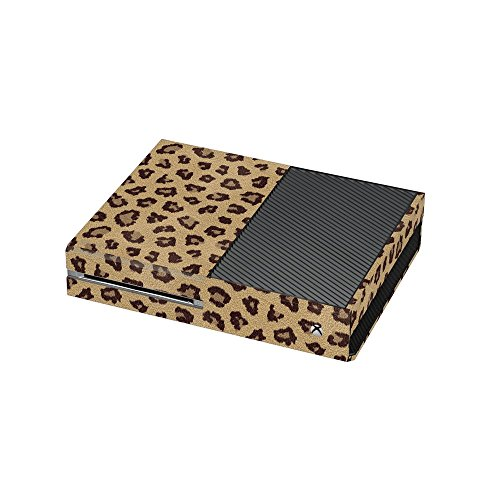 Leopard Fur Print Xbox One Vinyl Wrap / Skin / Cover for Microsoft Xbox One Console