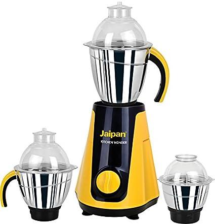 Jaipan JKW-1001 750W Wonder Mixer Grinder (3 Jars)