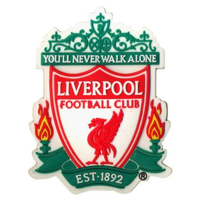 OFFICIAL LIVERPOOL FC FRIDGE MAGNET