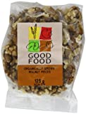 Good Food Pre-packed Organic Walnuts Light Pieces (Pack of 5)
