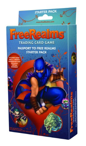 Topps Free Realms Trading Card Game Starter Deck - 1
