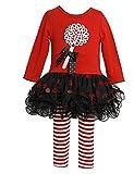 Bonnie Jean Baby-girls Lollipop Christmas Holiday Dress Leggings
