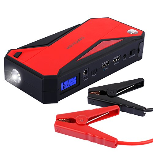DBPOWER 600A Peak 18000mAh Portable Car Jump Starter Battery Booster and Phone...