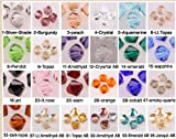 You Pick! Wholesale 100 Genuine EvesErose Bicone Faceted Czech Crystals 5301 8mm For Preciosa Swarovski Crafting Craft Beads Bracelet ~Luxury Jewelry Making~ SALE SAVINGS! Promo
