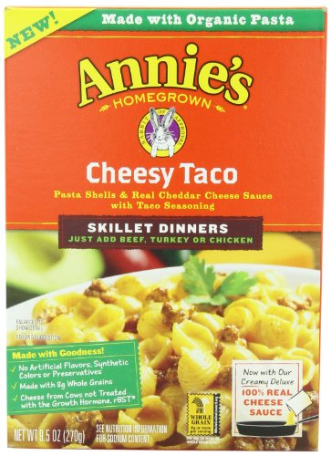 Annie's Homegrown Skillet Meal, Cheesy Taco,