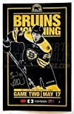 Brad Marchand Boston Bruins Signed 2011 Eastern Conference Game 2 Poster 11x17