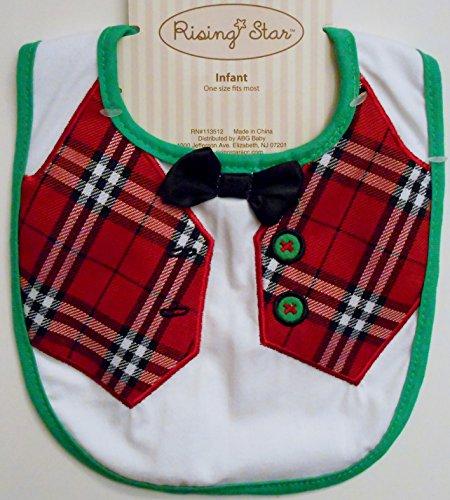 Infant Bib - Christmas Vest - 1