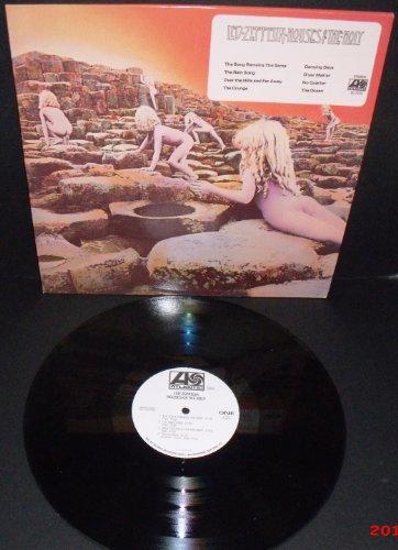 Houses Of The Holy / Import Black Vinyl White Promo Lp