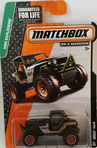 "Matchbox ""On a Mission"" - MBX Explorers - MBX 4x4 #60/120 - 1"