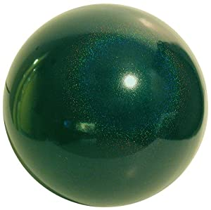 VCS GSD10 Mirror Ball 10-Inch Green Stardust Stainless Steel Gazing Globe