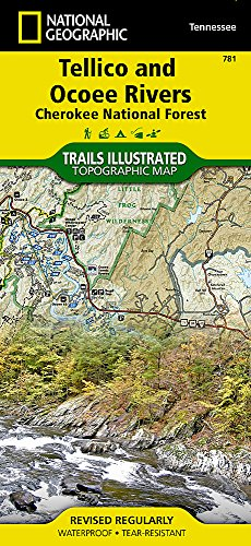 Tellico and Ocoee Rivers [Cherokee National Forest] (National Geographic Trails Illustrated Map) (Map Central South America compare prices)
