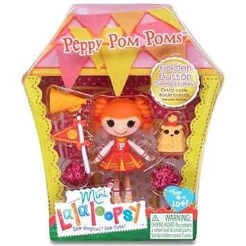 Mini Lalaloopsy - Peppy Pom Poms - Mini Poupée 7,5 cm (Import Royaume Uni)