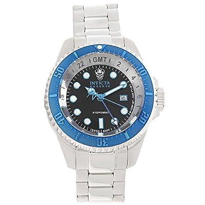 Invicta Men's 16969 Reserve Analog Display Swiss Quartz Silver Watch