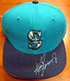 Ken Griffey, Jr. Autographed Signed Seattle Mariners New Era Hat #T63747 - PSA/DNA Certified - Autographed MLB Helmets and Hats Amazon.com