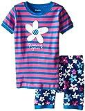 Hatley Little Girls' Summer Garden Short Pajama Set