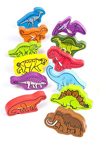 Hape - Qube Play Set - Roaming Dinosaurs - 1