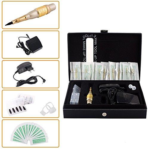 CH-104T Permanent Makeup Eyebrow Pen Tattoo Machine Kit Europe Style