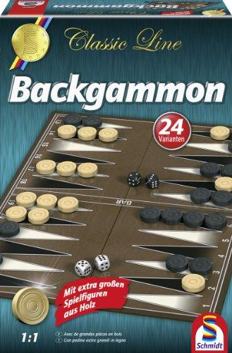 Schmidt - 49230 - Jeu de Société - Classic Line - Backgammon