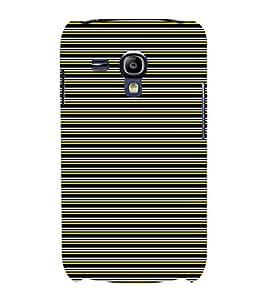 EPICCASE colored lines Mobile Back Case Cover For Samsung Galaxy S3 Mini (Designer Case)