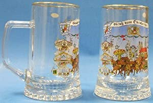 Oktoberfest German Glass Beer Mug from Pinnacle Peak