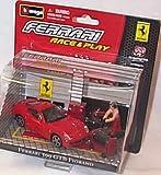 Race and play red ferrari 599 GTB fiorano scene set 1.43 scale diecast model