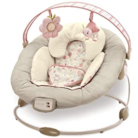 Boppy Cradle in Comfort Bouncer - Pink