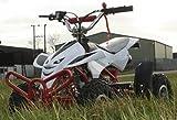 50cc Street Assassin Mini Off-Road Quad Bike - White from Very Bazaar (tm)