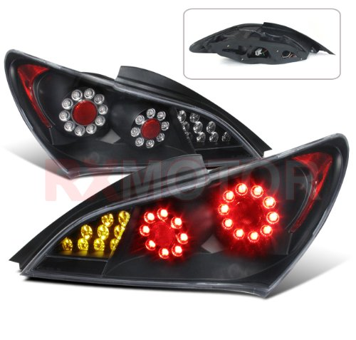 2010-2012 Genesis Coupe 2Dr Led Perform Tail Lights Left Right Side