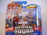 Marvel Superhero Squad Series 18 Mini 3 Inch Figure 2Pack Captain Marvel Thanos