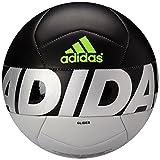 Pelota de Fútbol Adidas Performance Ace Glider tamaño 4, color gris metálico, negro y  amarillo solar