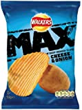 Walkers Max Cheese and Onion 50 g (Pack of 32)