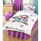 Kids/Childrens Groovy Chick Duvet Cover Set Bedding