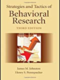 img - for Strategies and Tactics of Behavioral Research, Third Edition book / textbook / text book