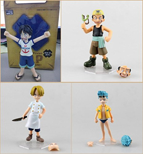 Rosy Women One Piece Mh Pop Mild Usopp Sogeking &Amp; Entertain A Belief &Amp; Luffy Pvc Action Figure 12Cm Collectible Model Toy Fga984