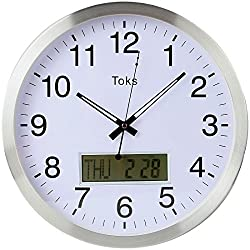 Lily's Home 14 Inch Day Date Wall Clock.
