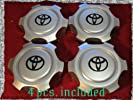 4pcs Wheel Center Hub Caps Tacoma 4Runner T100 6 lugs ONLY 15″ & 16″ Rims