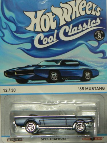 "Hot Wheels Cool Classics Spectrafrost ""65 Mustang 12/30"