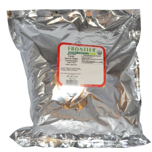 Frontier Natural Products Organic Catnip Leaf & Flower Cut & Sifted -- 16 Oz front-712044