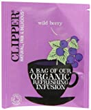 Clipper Organic Infusion Wild Berry Enveloped 250 Teabags 625 G