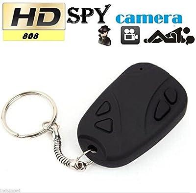 Novelt'y Car Keychain Hidden Camera Key Chain- Hidden Pinhole Digital Video Recorder & Mini Keychain Spy Camera Micro Camera- PC WebCam Car Key Chain Spy Camera
